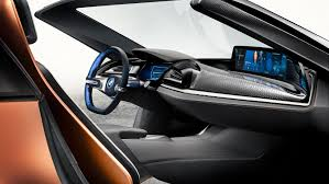 future bmw concept this bmw i8 concept previews the future of car electronics
