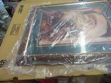 home interior cowboy pictures new in box home interior homco western picture wood frame hat