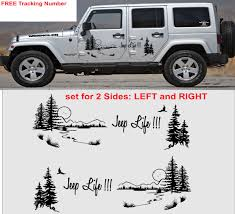 jeep life product jeep life vinyl decal graphic side wrangler rubicon