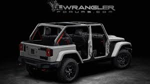 jeep rubicon white sport 2018 jeep wrangler unlimited images leak showing removable doors roof