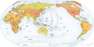 Google Maps United States by North America Centered World Wall Map Mapscom America Centric