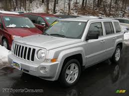 silver jeep patriot 2007 2010 jeep patriot limited 4x4 in bright silver metallic 535434