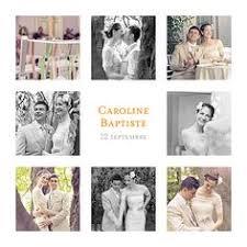 remerciement mariage photo tous les remerciements mariage alliances fond kraft 0 faire
