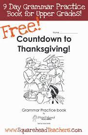 thanksgiving grammar practice book for grades free