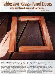 glass panels for cabinet doors tablesawn glass panel doors u2022 woodarchivist