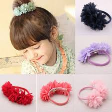 floral headband kid baby toddler infant cloth flower floral headband