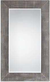 Uttermost Mirror Uttermost 09162 Frazer Stone Gray Mirror Utt 09162