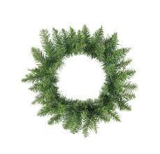 16 buffalo fir artificial wreath unlit
