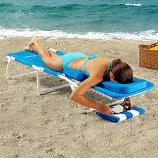 Ergonomic Reading Chair Ergonomic Beach Lounge Chairs At Brookstone U2014buy Now