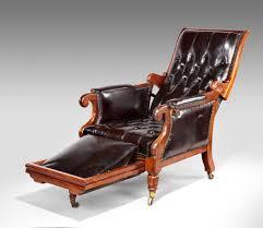 wonderful william iv reclining armchair c 1835 england from