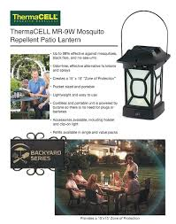 Mosquito Spray For Backyard by Thermacell Mosquito Repellent Patio Lantern Mr 9w The Home Depot