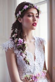 flower hair best 25 wedding hair garlands ideas on whimsical