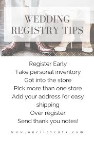 how to register for your wedding wedding registry tips how and where to register for weddings