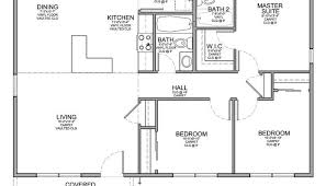 Simple House Floor Plans With Measurements Floor Plan Simple House Plans With Measurements Luxamcc