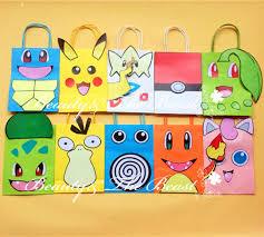 aliexpress com buy pokemon go pikachu favor bag gift bag