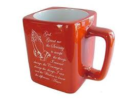 serenity prayer mug serenity prayer coffee cup recovery gifts at woodenurecover