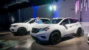 nissan rogue midnight edition nissan offers midnight edition package for six models