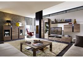 Wohnzimmer Modern Eiche Wohnwand Mit Highboard San Remo Eiche Schiefer Woody 22 00605