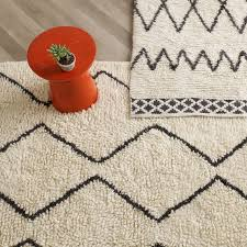 How To Crochet A Rug Out Of Yarn Souk Wool Rug Ivory West Elm