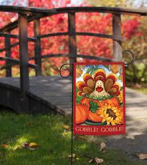 Fall Flags Yard Amazon Com Toland Autumn Turkey Decorative Thanksgiving Fall