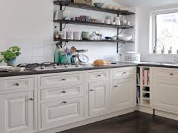 Open Kitchen Cabinets Ideas by Open Kitchen Shelving Ideas Home Design Ideas