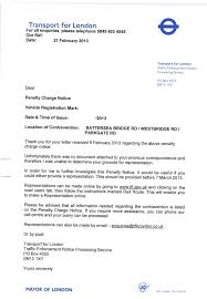 Template For Letter Of Appeal Fightback Forums Pcn Entering And Stopping In A Box Junction