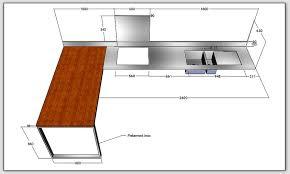 table de cuisine sur mesure decoupe plan de travail sur mesure