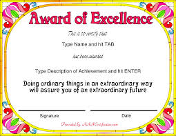 43 stunning certificate and award template word examples thogati