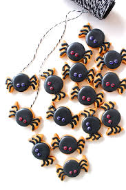 Bat Biscuits For Halloween by Diy Tiny Spider Cookies Hotelt2 Ideas Halloween Food Crafts