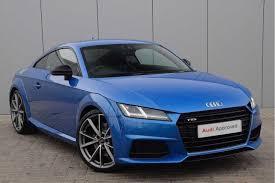 used audi tt blue for sale motors co uk