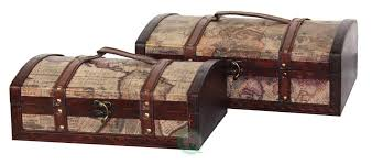 Old World Map by Quickway Imports Old World Map Treasure Chests U0026 Reviews Wayfair
