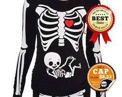 Pregnancy Halloween Costumes Skeleton Maternity Costume Etsy