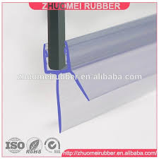 5 10mm frameless shower door sweep bottom seal wipe drip rail