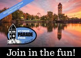 Spokane Washington Google Maps by Porsche Parade 2017 Spokane Washingtonporsche Club Of America San