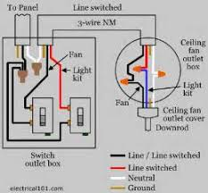 wiring a ceiling light with switch lighting