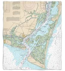 Nautical Map Tattoo Nc Oak Island Southport Bald Head Island Nc Nautical Chart