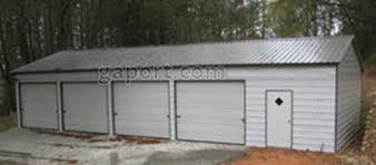 4 car garage four car metal garages 4 bay steel garage