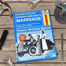 personalised book haynes explains marriage gettingpersonal co uk