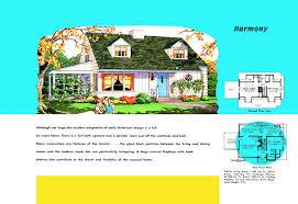 American House Floor Plan by Neocolonial Floor Plans