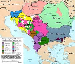 Greece On A Map by Map Of The Balkans Slovenia Croatia Bosnia Serbia Macedonia