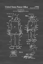 firefighter home decorations 26 best patent drawings jobs and professions images on pinterest