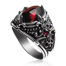 silver ring for men men s sterling silver vintage artichoke gemstone ring yoyoon 7784