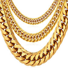 necklace chains wholesale images Hip hop chains for men jewelry wholesale yellow gold color thick jpg