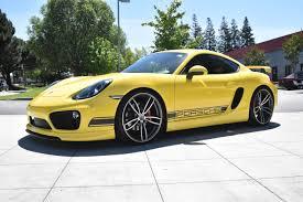 porsche cayman yellow rrs premier car dealer