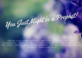 Prophecy Is For Edification Exhortation And Comfort Getting A Better Understanding Of The Gift Of Prophecy