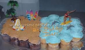 birthday cake decorations coolest surfing birthday cake decorations