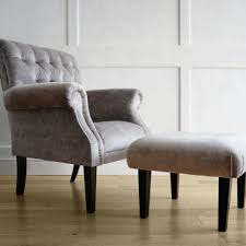 Deep Armchair Deep Buttoned Armchair And Footstool Kensington Design
