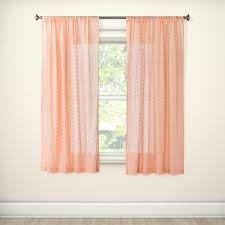 pink curtains target