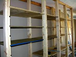 Diy Garage Storage Cabinets Free Plans To Build Garage Shelving Using Only 2x4s Easy And