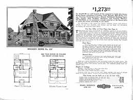 craftsman bungalow floor plans floor plans modern home no 111 the chelsea from the sears modern homes